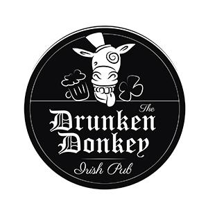 Werbeagentur Layoutriot referenzen: the drunken donkey logo