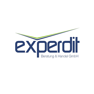 Werbeagentur Layoutriot referenzen: experdit logo